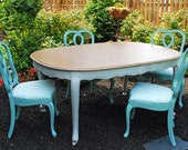 reserved - French Provincial Dining Table  - Cherry - on hold