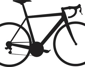 Road Bike Decal