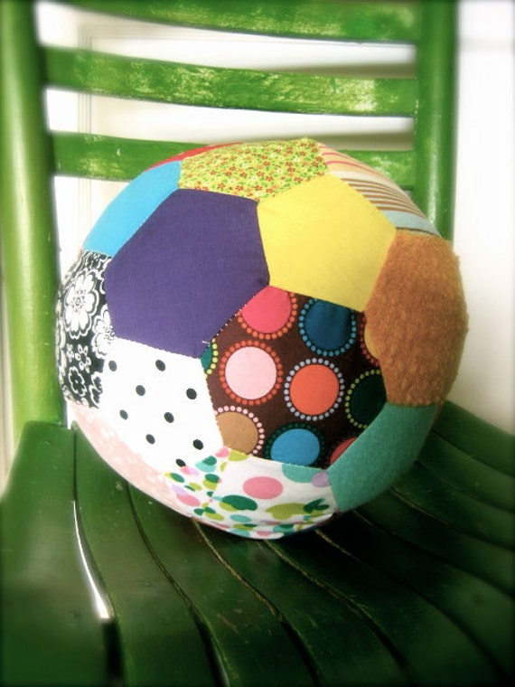 Zoe Quilted Plush Ball