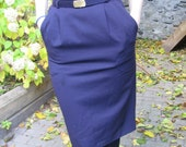 CLEARANCE SALE - Purple Vintage Skirt-Braemar Petites- Size 0