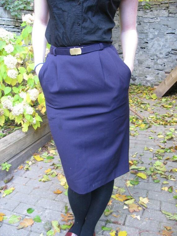 CLEARANCE SALE - Purple Vintage Skirt-Braemar Petites- Size 0