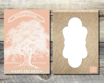 Rustic Romance: Save the Date