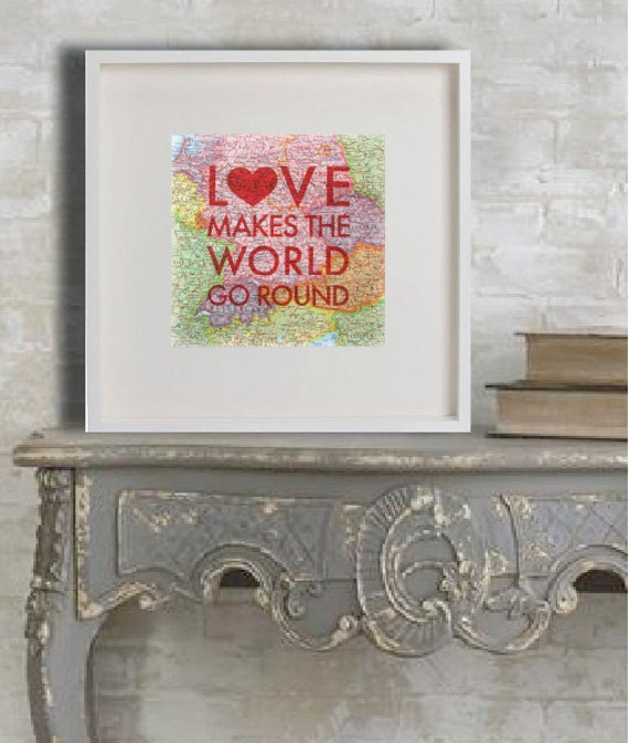 LOVE Map Posters