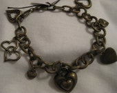 Brass hearts Bracelet