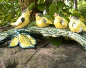 Stangl Goldfinches Figurine