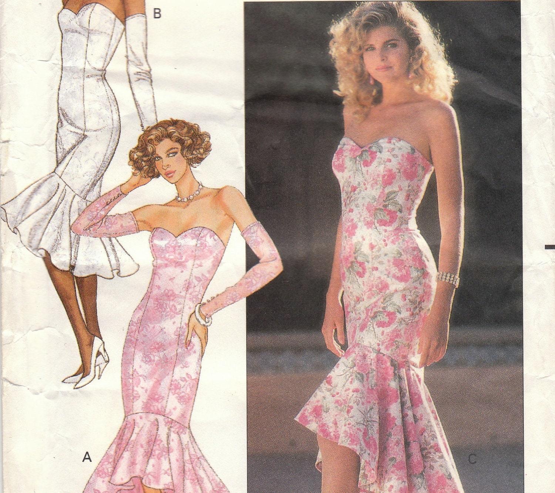 mermaid gown pattern | Fashion Gallery