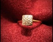 Antique Diamond Chip Ring