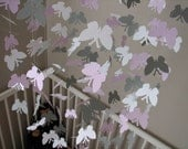Custom order - Butterfly baby mobile
