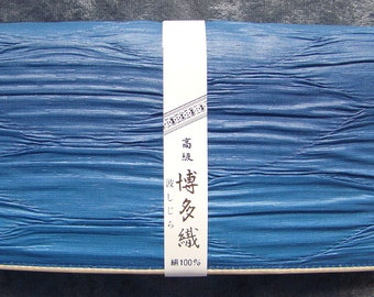 100% Blue Silk Clutch Wallet from Japan