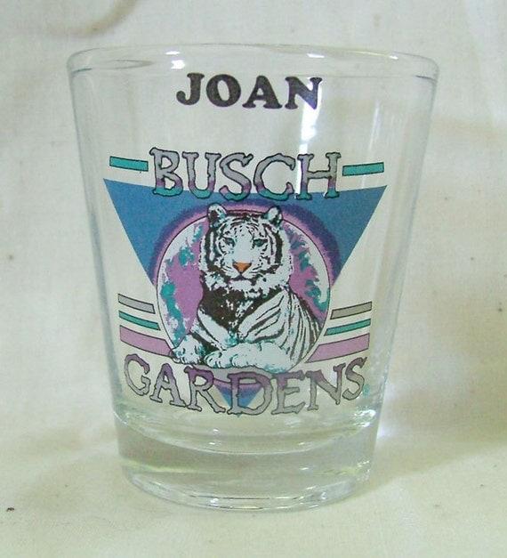 Busch Gardens White Tiger Shot Glass