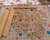 On Reserve for Noelle.....Vintage 1948 Scrabble Game in Box.