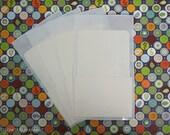 70 Library Card Pockets with Self Adhesive Backs