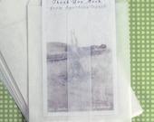 75 Small Glassine Envelopes  2.75 x 3.75 - Business Card Size, Confetti Envelopes