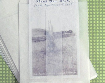 100 Small Glassine Envelopes  2.75 x 3.75 inches - Business Card Size, Confetti Envelopes