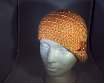 Vintage style flapper hat