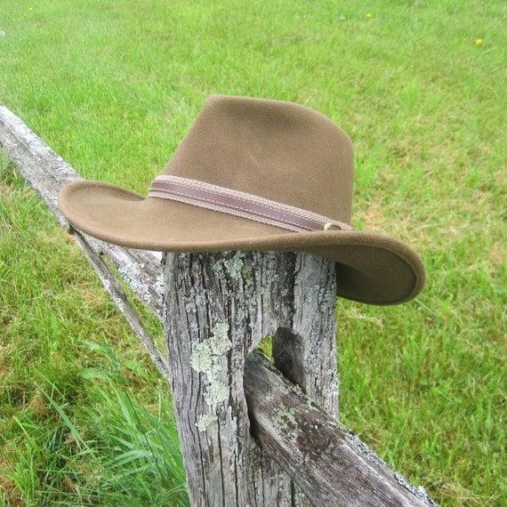 Vintage Wool Cowboy Hat by Serratelli