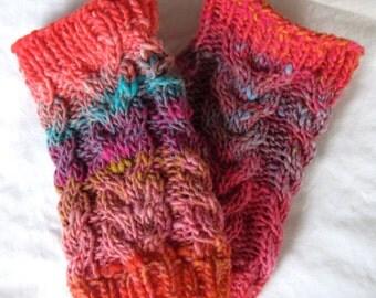 Bright Lights Fingerless Gloves