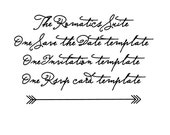 the romantics suite: three digital and fully customizable templates