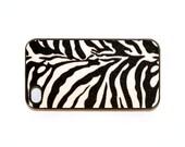 iphone 4 case vintage zebra fur 1