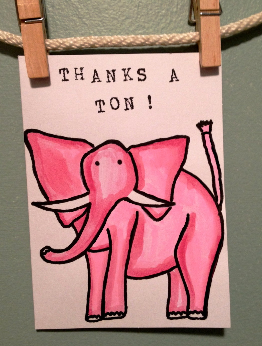 Thank You Card Funny