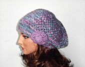 Hand Knitted Hat - Multicolor