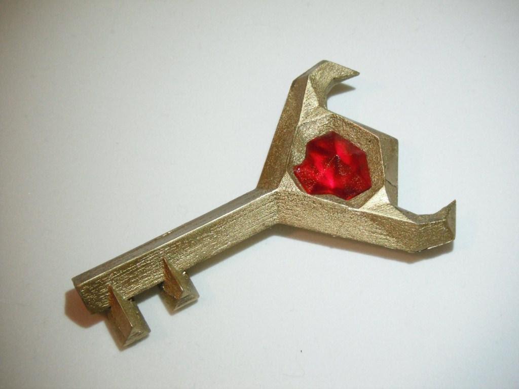 Zelda Boss Key Big Key From Ocarina Of Time