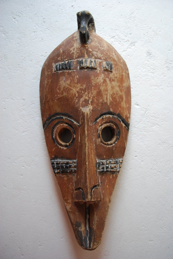 Handcarved Wooden MASK from GHANA