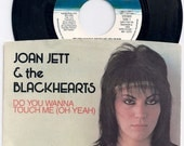 Original Press 1981 Joan Jett 7 Inch Vinyl Record