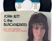 Original Press 1981 Joan Jett 7 Inch Vinyl Record