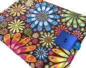 iPad 2 Case, iPad 3 Cover, iPad 1 Case, iPad 1 Cover, iPad 1Sleeve, iPad 2 Sleeve, iPad 3 Sleeve, iPad Case, iPad Cover, PADDED,  Floral