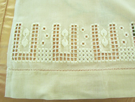 Arts And Crafts Curtains 2 Panels Hardanger By Mathildasattic