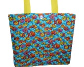 Tropical Fish Bag - SALE