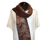 Warm and Stylish Paisley Scarf - Clearance Sale