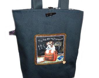 Dog School Bag - SALE