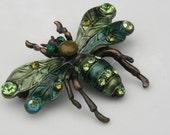 Green Hornet Brooch