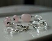 Pink and Crystal Clear Grande Bracelet