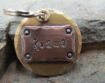 Personalized dog tags - Dog tag personalized - dog tag ID - Halter / Bridle Tag - Pet ID Tag/Tags - Pet tag/tags Mixed Metal Dog Tag