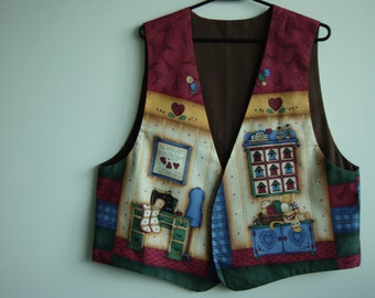 A Sewing Lover's Vest
