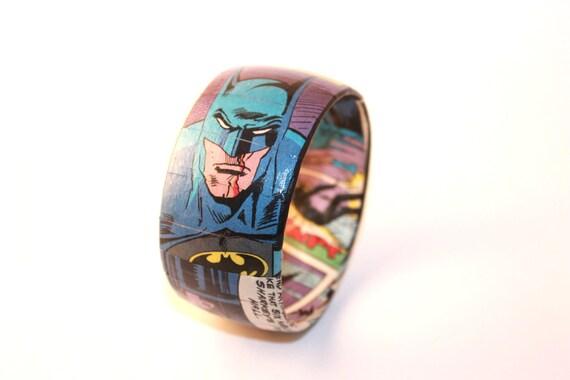 BATMAN Comic Book Bangle Bracelet