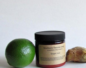 Ginger Lime Body Lotion - Essential Oil Lotion
