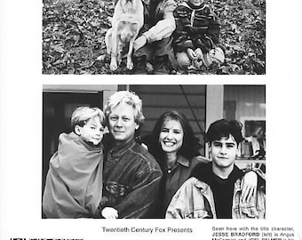 1985 Jesse Bradford Vintage 8x10 Black and White Photograph - Studio Promotion - Far From Home: The Adventures Of Yellow Dog