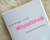 The Twitter Customized Card Collection