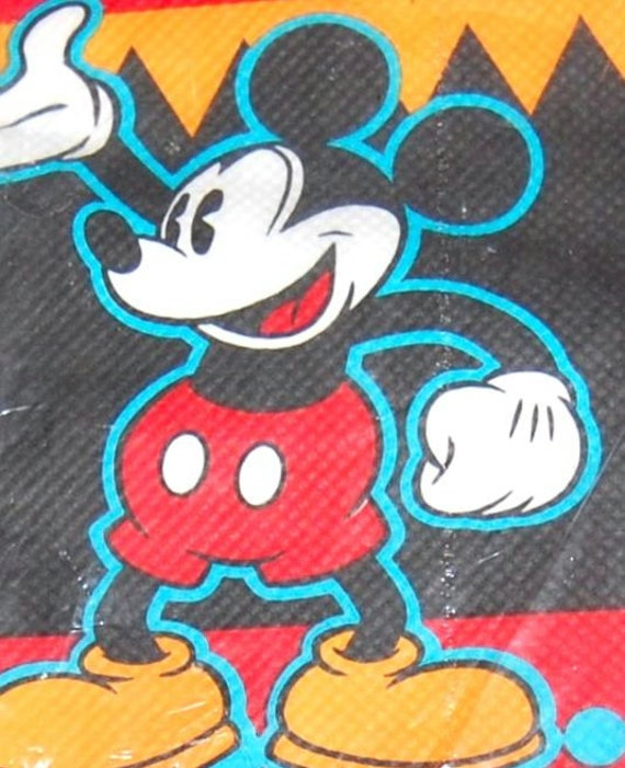 1980s Mickey Mouse Table Cover/Paper Tablecloth