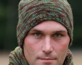 Knitted Wool Beanie Hat for Men