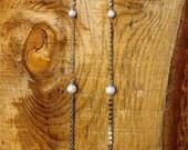 Alexis Silver globe earrings