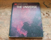 the universe vintage hardcover science educational instructional book life nature library 1962 color black and white illustrations photos