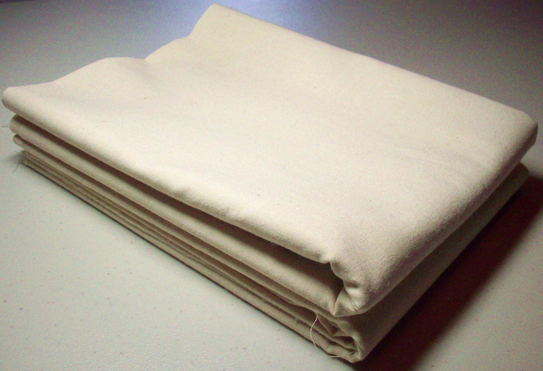 One Half Yard 100 Natural Cotton Muslin Fabric