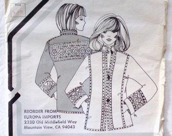Daisy Kingdom Jacket Pattern