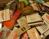 Lot of Vintage Match Books 80 plus Books & Boxes, Various US States- Matchbook Collection