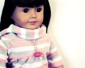 Cocoa Cutie- 18 inch doll necklace
